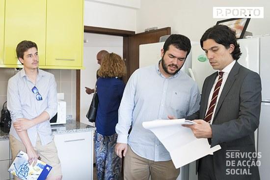 Visita dos presidentes das AEs às residências do P.PORTO | TeresaSilva©