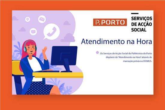 """""""Atendimento na Hora"""" nos Serviços de Acção Social"""