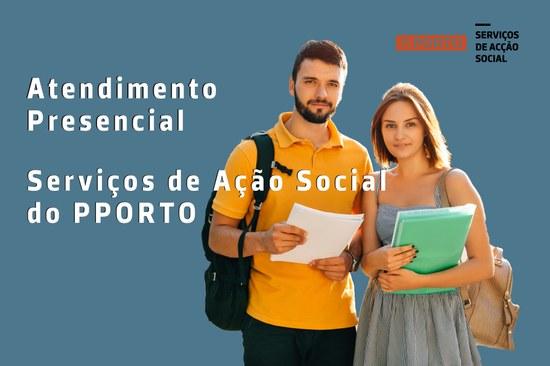 Atendimento Presencial nos Serviços de Acção Social
