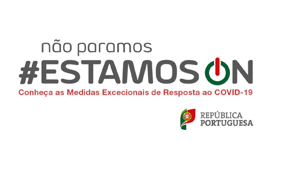 COVID 19: Campanha #EstamosOn