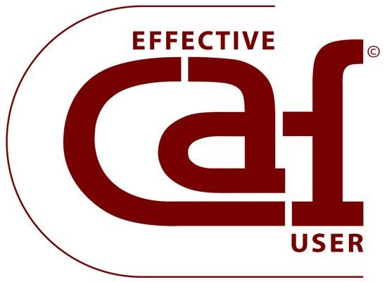 """Distinção de """"Effective CAF User"""""""