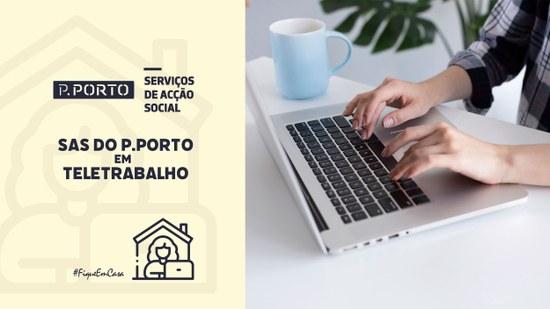 """SAS do P.PORTO em entrevista à RTP – """"A era do teletrabalho"""""""
