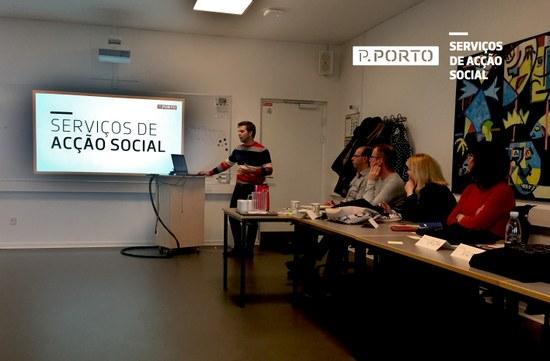 SAS do P.PORTO participam em programa de mobilidade ERASMUS+ staff training sobre apoios sociais a estudantes