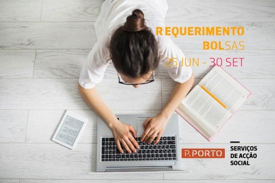 Requerimento a Bolsas de Estudo 2020/2021
