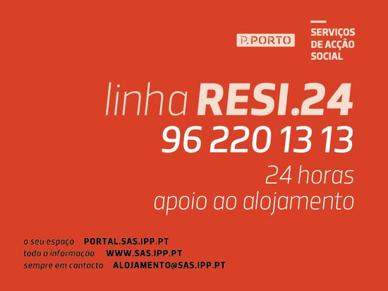 Resi.24 garante apoio non-stop aos nossos estudantes residentes