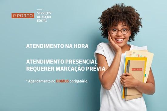 SAS P.PORTO: ATENDIMENTO PRESENCIAL REQUERER MARCAÇÃO PRÉVIA
